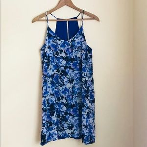 Dark blue floral dress 💙